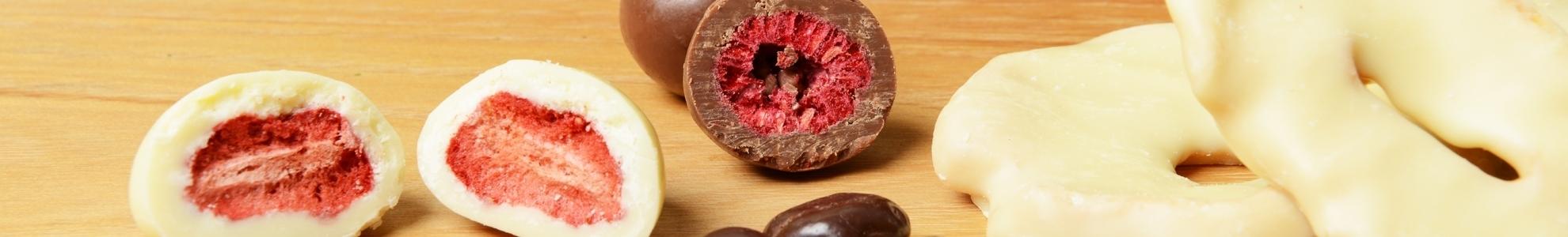 Schokofrüchte/ Nüsse