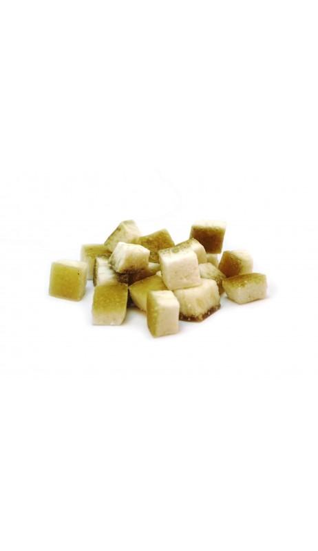 Pomelo Stücke getrocknet gezuckert und ungeschwefelt
