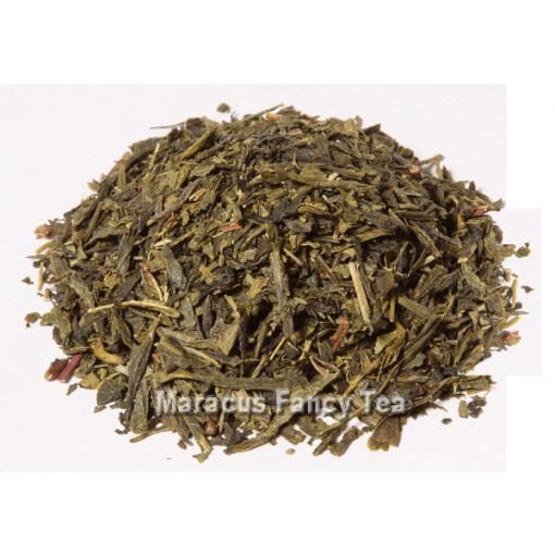 Grüntee China Sencha (mild mit großem Blatt und heller Tasse)