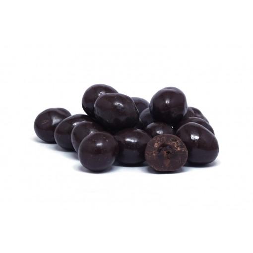 Kaffeebohnen in Zartbitterschokolade