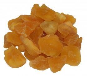 Apfelstücke getrocknet, geschwefelt