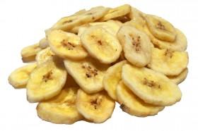 Bananenchips mit Honig und Zucker