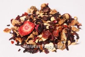 Früchtetee mit Erdbeer-Orangen-Geschmack