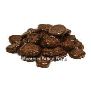 Bananen-Chips in Zartbitterschokolade