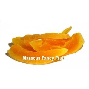 Honigmelone Cantaloupe getrocknet mit Zucker