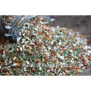 Pesto Peperoncino Gewürzzubereitung griesig