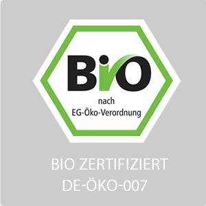 ökologische/biologische Erzeugnisse: Trockenfrüchte, Nüsse