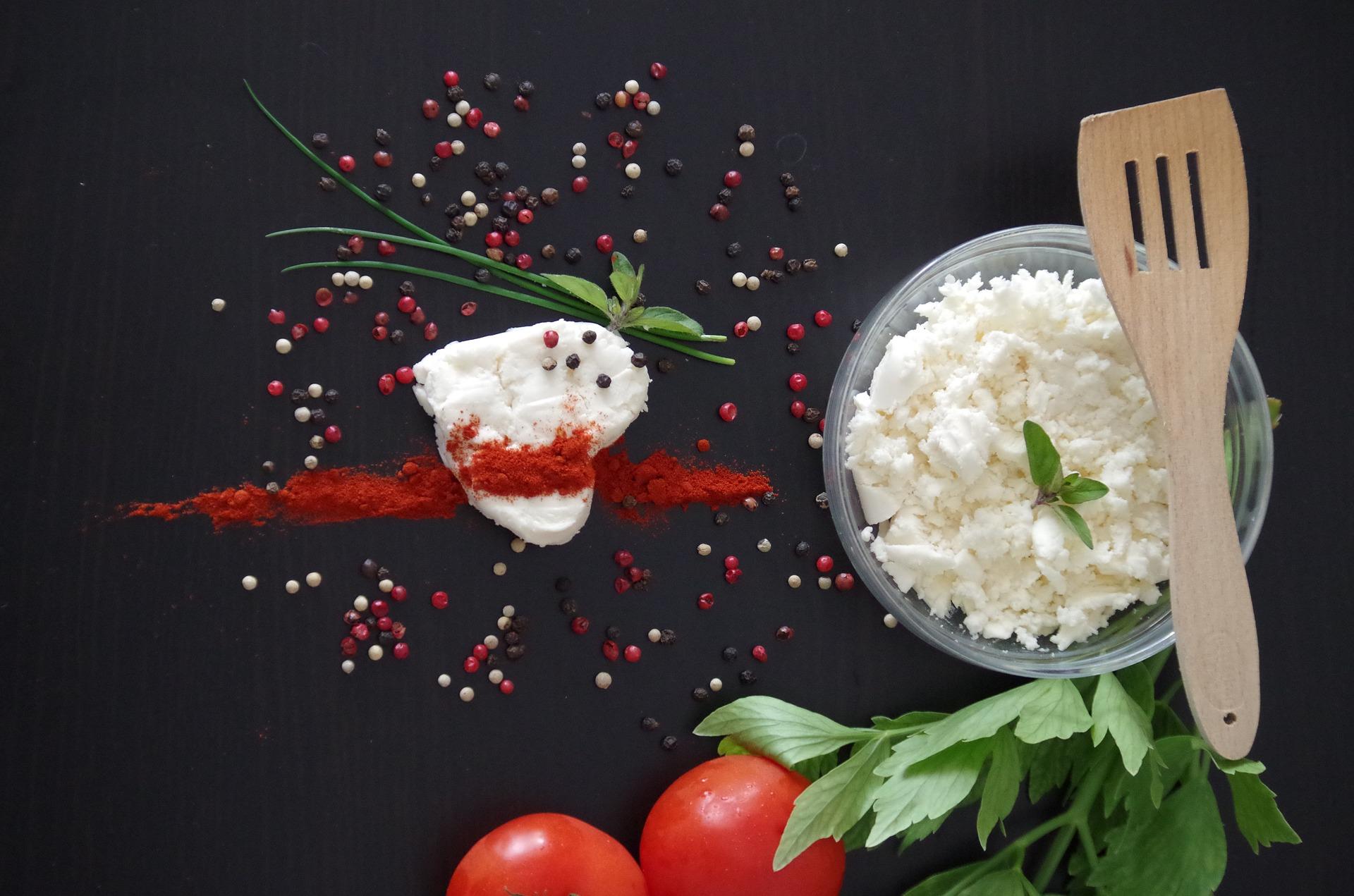 Cranberry Dip mit Minze und Feta.