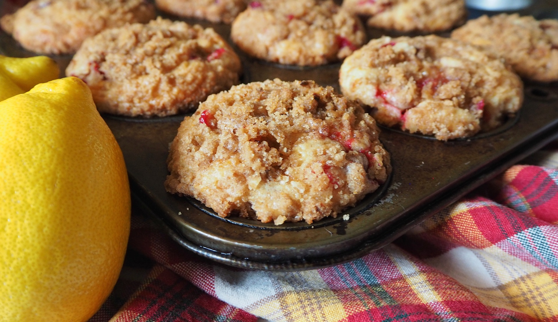 Cranberry Muffins Rezept mit Buttermilch