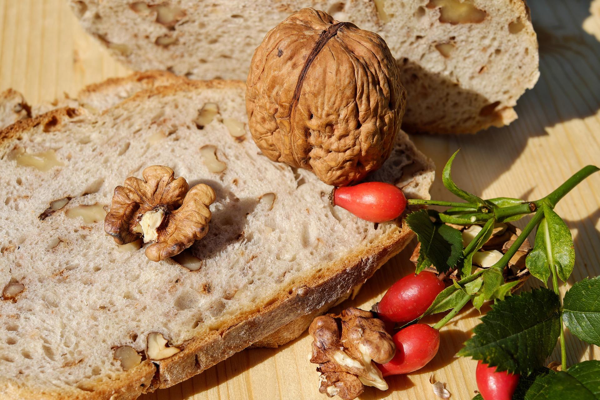 Walnuss Ciabatta Rezept für 2 Brote.