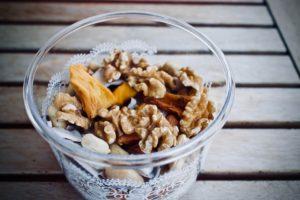 LLeckerer Nuss-Frucht-Snack.